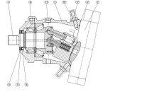 Гидромотор Bosch Rexroth A6VM/63 160